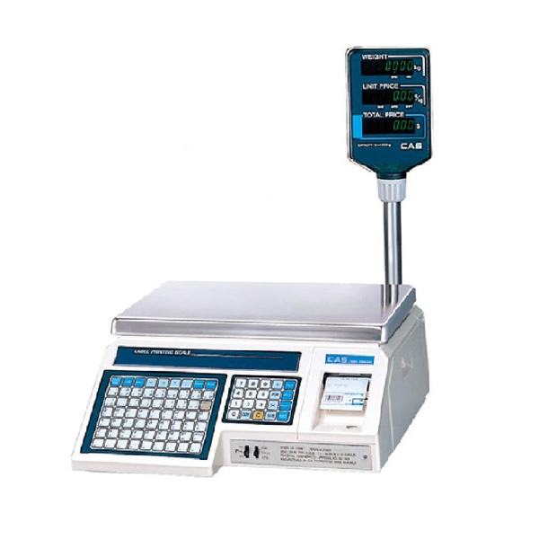 CAS LP-1 Label Printing, Weighing Scale